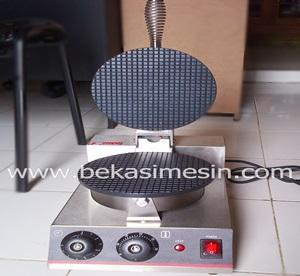 pembuat wafle cone, wafle cone maker, mesin cone ice cream