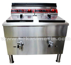 DEEP FRYER, PENGGORENGAN, PENGGORENGAN GAS DENGAN THERMOSTAT